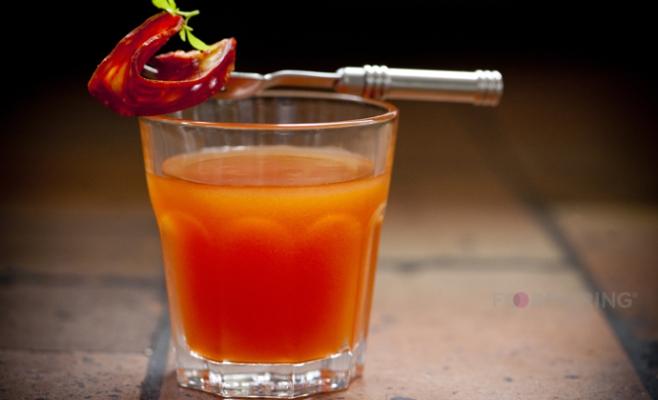 Ketel One Vodka - bell pepper - tomato - bacon - tamarind