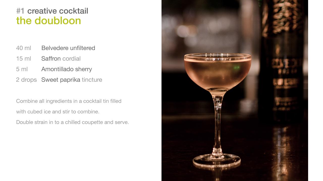 cocktail toni conigliaro foodpairing