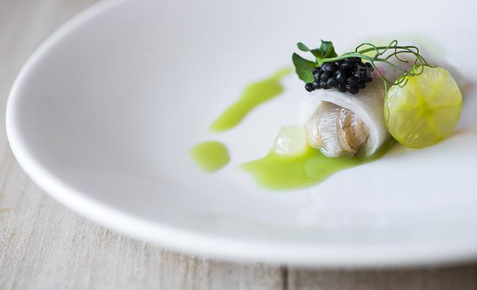deus oyster cucumber buttermilk daikon foodpairing