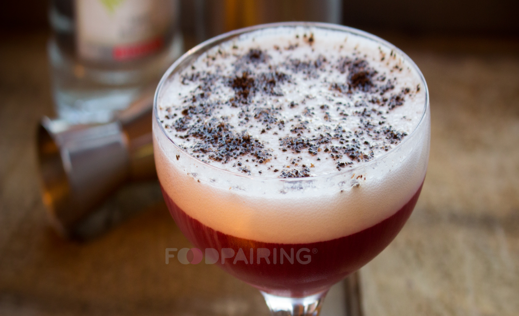 sambuca beetroot foodpairing cocktail drinkpairing